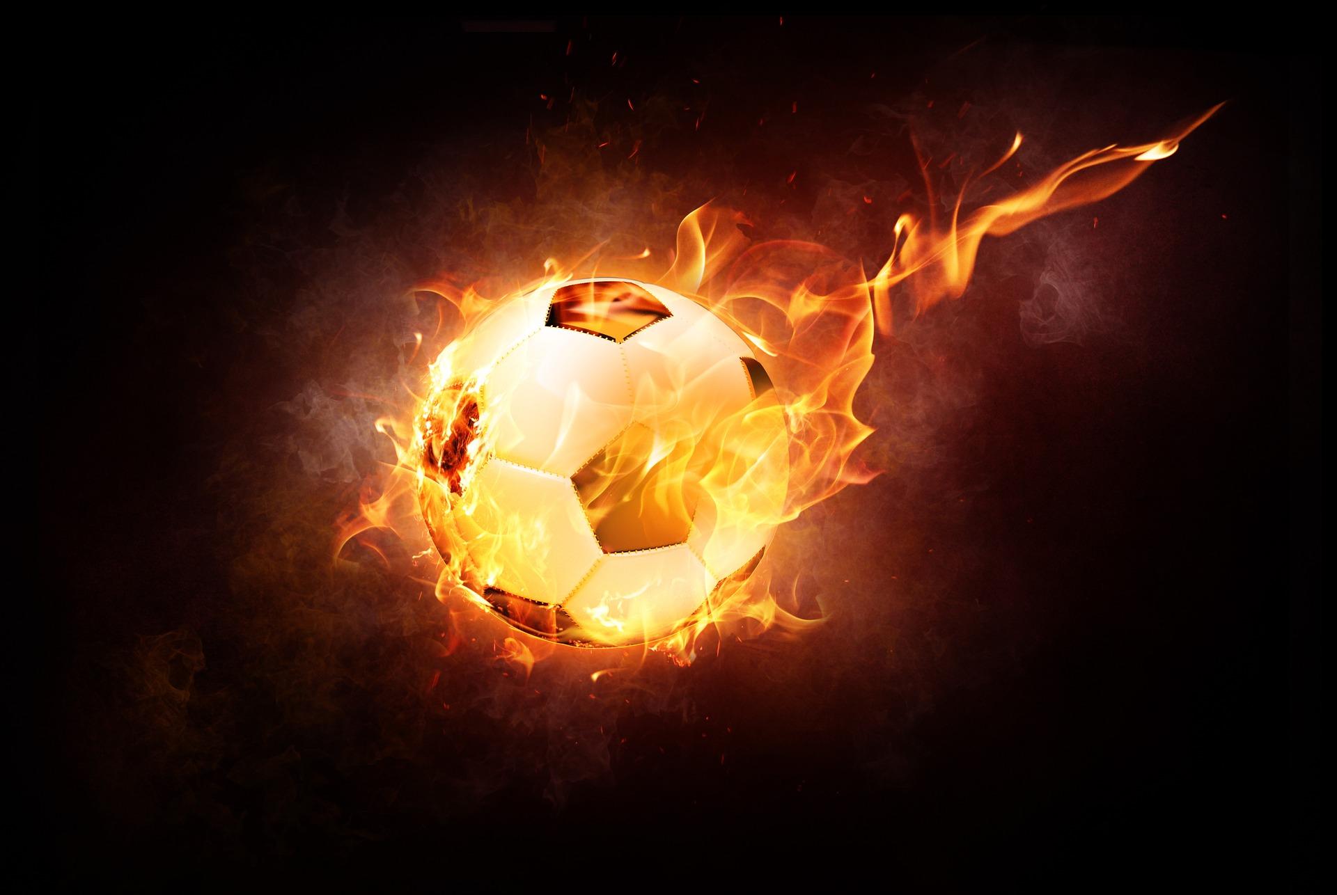 Fußball brennt / Pixabay